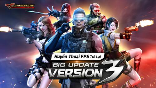 Crossfire Legends – game huyền thoại Mobile