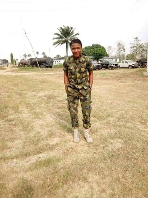 Photos: Young Nigerian female soldier killed in accident few hours after she shared her excitement about her upcoming birthday which is today