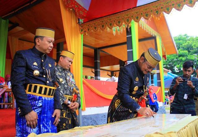 Makassar, Selayar, Gubernur, Bupati, Hari Jadi Selayar