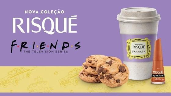 Rappi distribui esmalte da linha Friends em parceria com Risqué