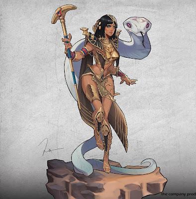 Hessefa Nal Barim (Cleopatra by San Yang)