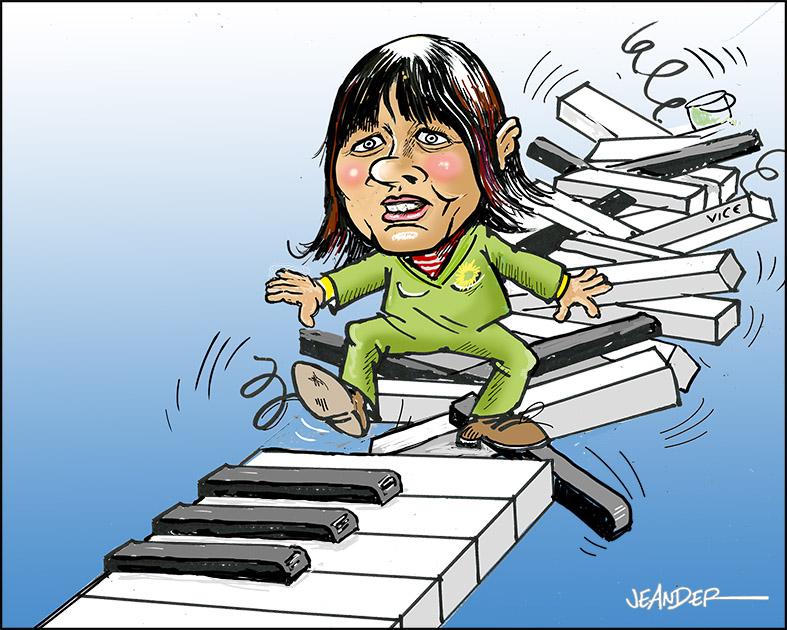 Apropå Åsa Romsons upprepade klavertramp..