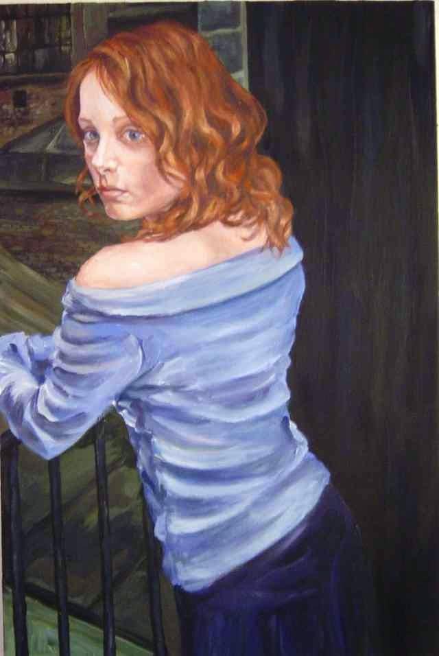 Британская художница. Jennifer Cussons