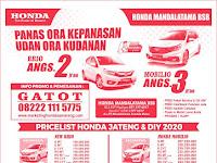 Promo Honda BSB Semarang Maret 2020