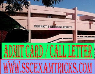 Mansa Court Stenographer Skill Test Call Letter
