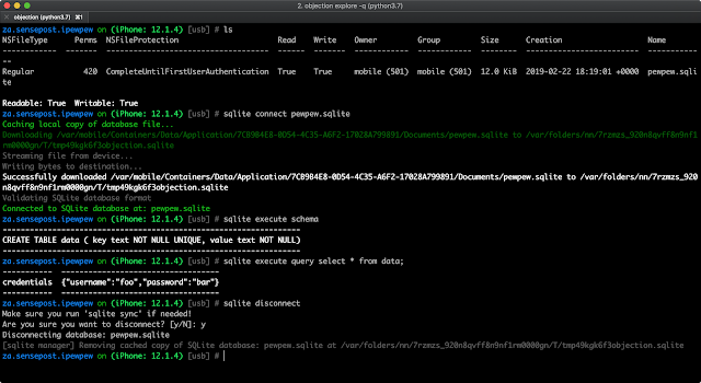 Objection V1 6 6 - Runtime Mobile Exploration - Hacking Land