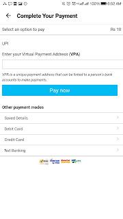 paytm upi payment