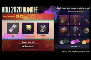 PUBG Mobile Introduces Holi Pack 2020 For 10 UC: Everything You Need To Know About The Ceremonial Show