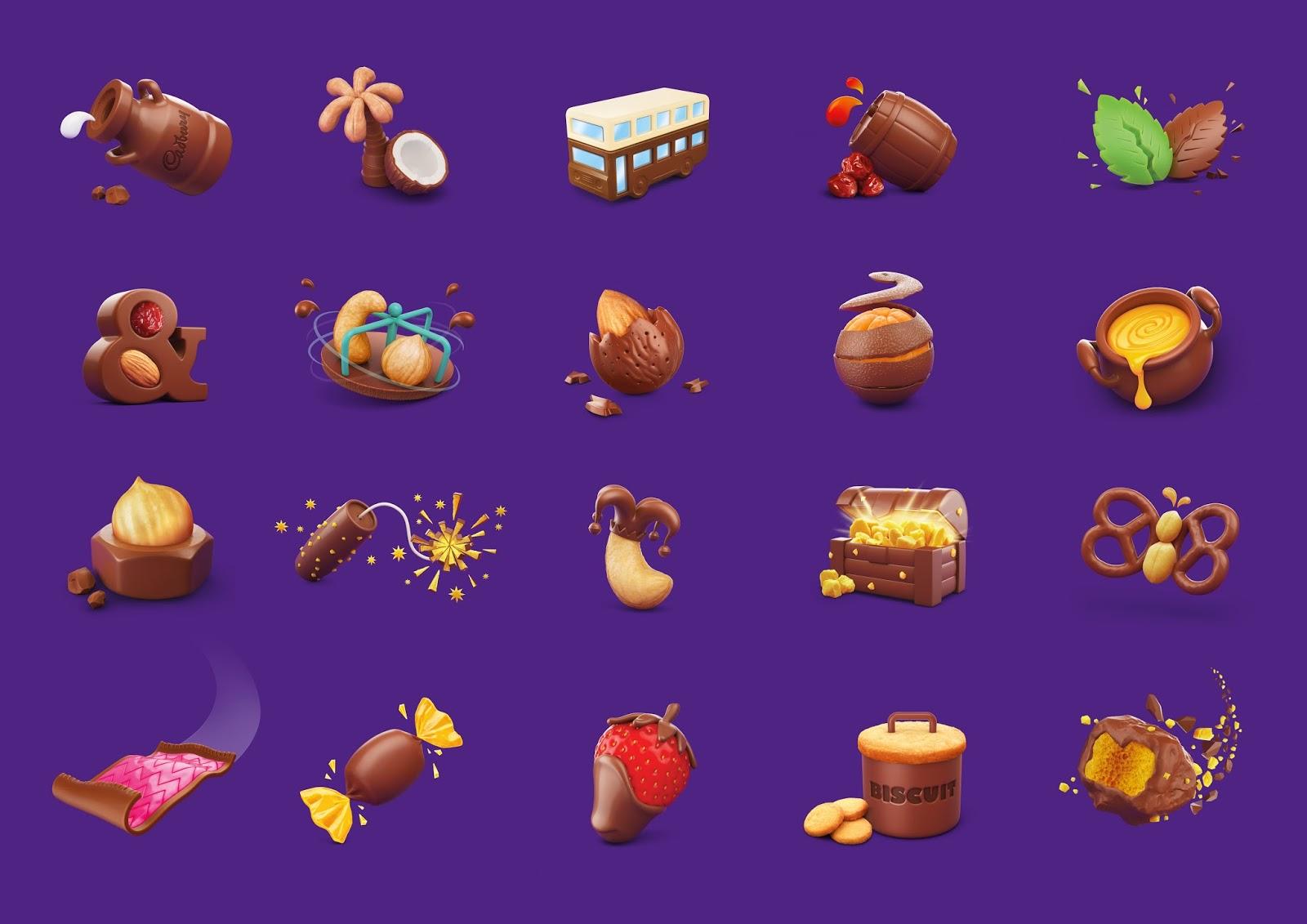 Cadbury Chocolate Product Design History