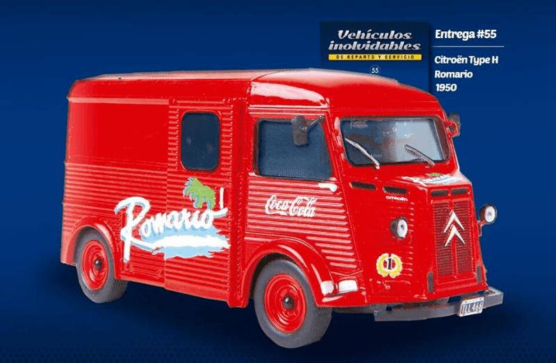 Citroën Type H 1950 pizzerías romario  autos inolvidables de reparto y servicio