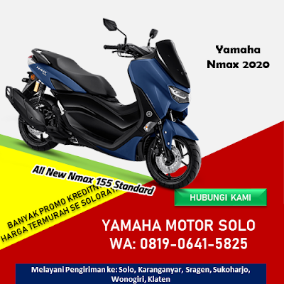 Harga All New Nmax 2020 di Solo