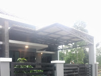 Contoh Model Rangka Kanopi Alderon Terbaru