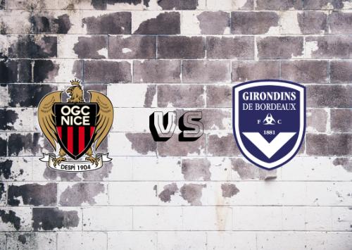 Niza vs Girondins de Burdeos  Resumen
