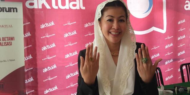 Wanita Emas: Kalau pemilu hari ini Saya menang!