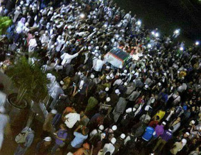 Kesal dengan Pemberitaan yang Dinilai Merugikan, Massa 112 Usir Kompas TV dari Istiqlal