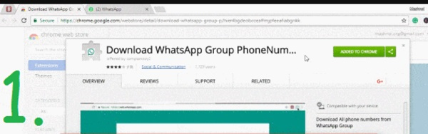Export WhatsApp Group Contact In Excel 2021