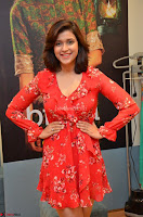 Mannara Chopra in deep neck Short red sleeveless dress Cute Beauty ~  Exclusive Celebrities Galleries 055.JPG