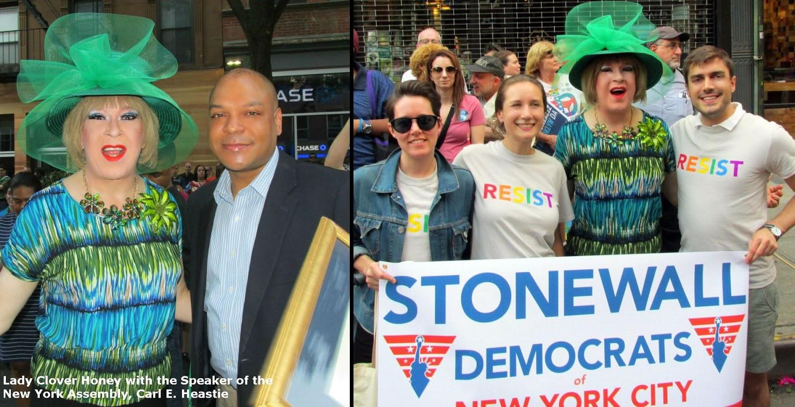 How Sweet It Is! Lady Clover Honey's Blog: Brooklyn LGBT