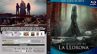 CARATULA - THE CURSE OF LA LLORONA - LA MALDICIÓN DE LA LLORONA - 2019 BLU RAY