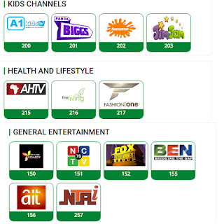 TSTV entertainment channels