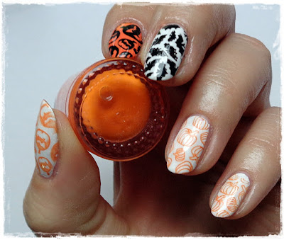 Halloween Nails #1