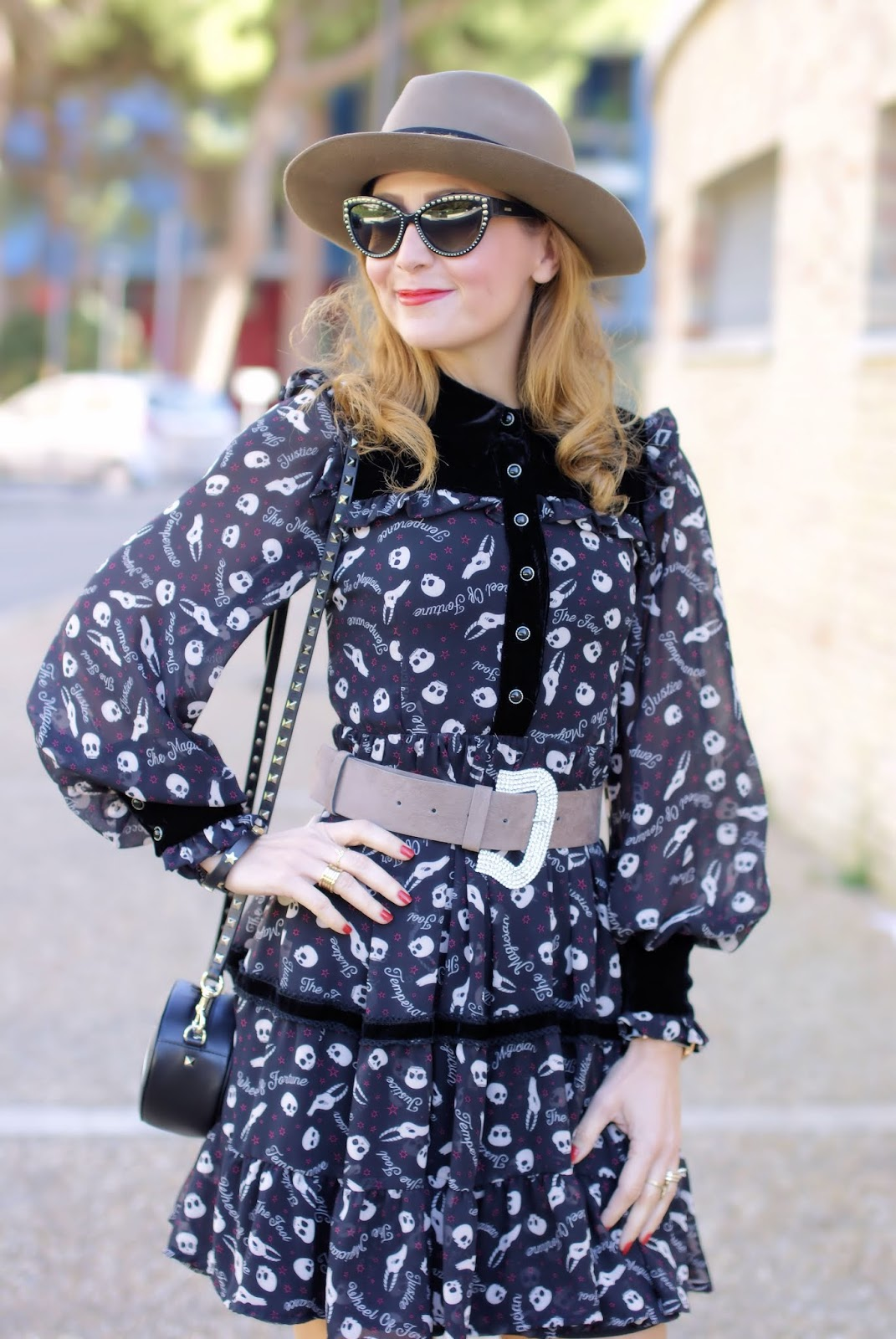 Maggie Sweet dress, Anye By cintura con strass on Fashion and Cookies fashion blog, fashion blogger style