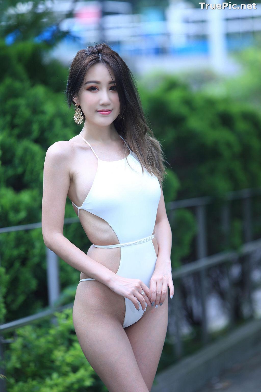 Image Taiwanese Beautiful Model - Suki - White Sexy Bikini Girl - TruePic.net - Picture-8