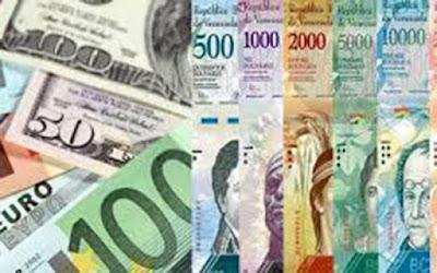 cambio, Venezuela, euros, dólares