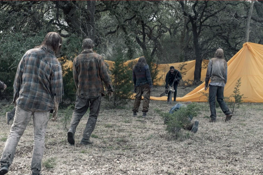 Victor Strand episodio 5x07 Still Standing Fear The Walking Dead
