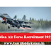 Indian Air Force AFCAT (02/2021) Recruitment 2021 :: Apply Online For 334 Vacancy