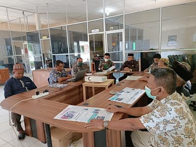 Mewakili Danposramil 05/PC, Sertu Zulkarnaini Hadiri Undangan Pembentukan Panitia Pemilihan Mukim