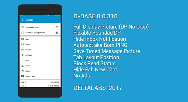 BBM MOD Official v3.3.0.16 APK Clone Versi Terbaru 2017 Full DP Bebas Iklan