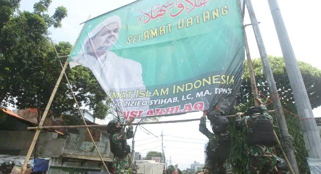 Mabes TNI Tegaskan Tak Pernah Perintahkan Copot Baliho Habib Rizieq