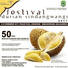 Makan Durian Sepuasnya di Festival Durian Sindangwangi Kabupaten Majalengka