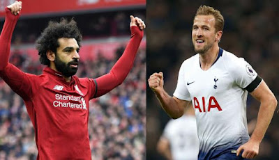 Mo Salah y Harry Kane final champions league 2019