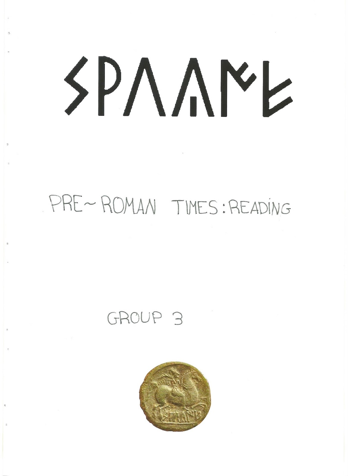 TIME Detective Agency: Pre-Roman Spain: Reading