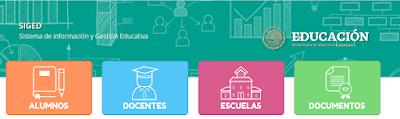 SIGED - Sistema de Información y Gestión Educativa
