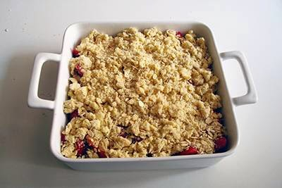 Crumble di fragole 7