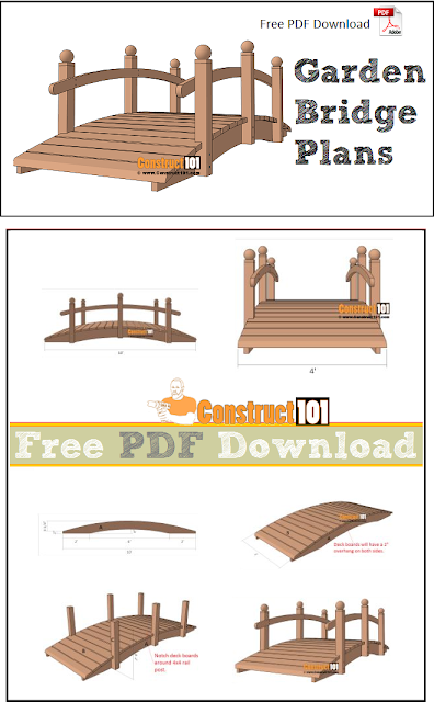 Garden bridge plans free PDF download.