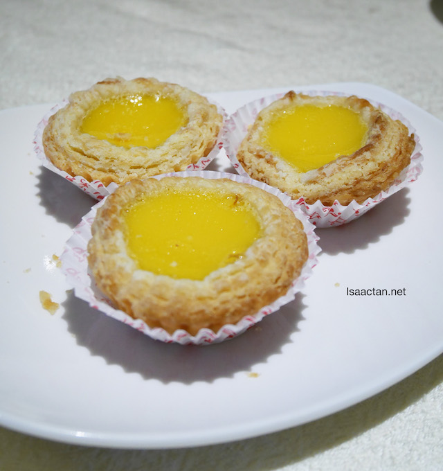 Oven Baked Mini Egg Tarts