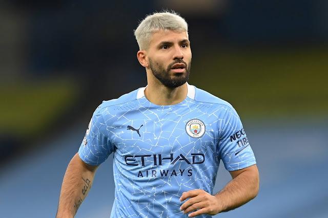 Manchester city legend Sergio Aguero