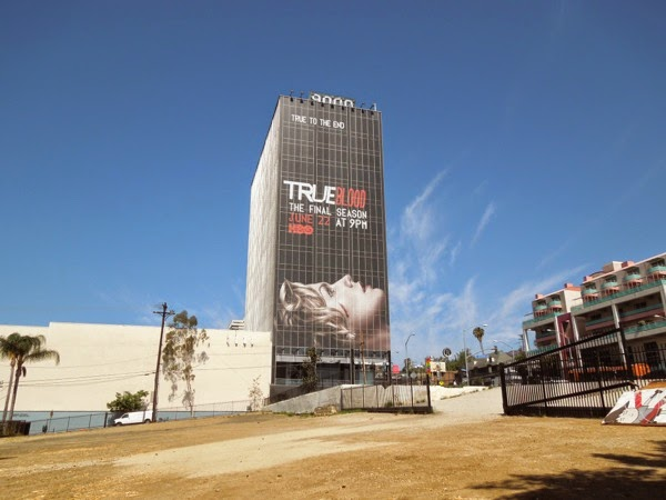Giant True Blood final season 7 billboard