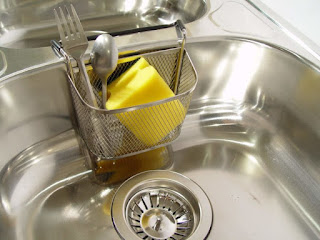 natural clean stainless steel sink