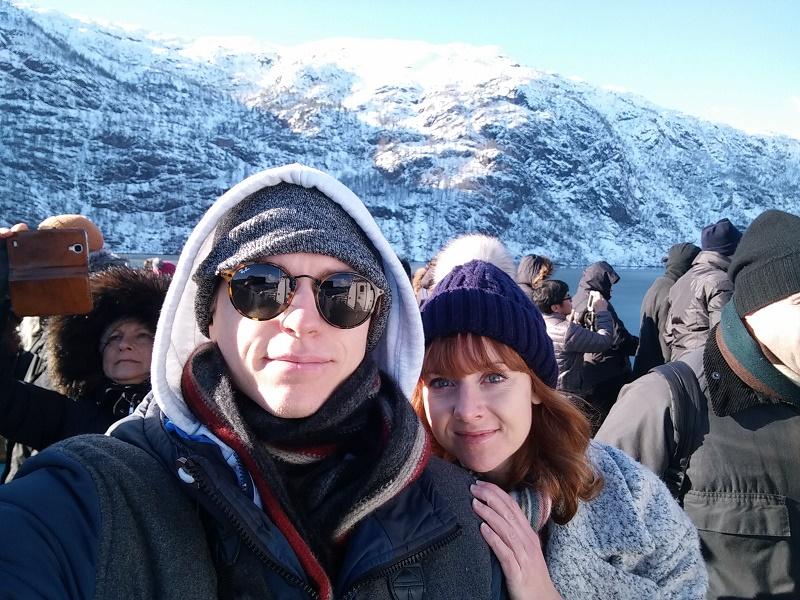 Bergen selfie