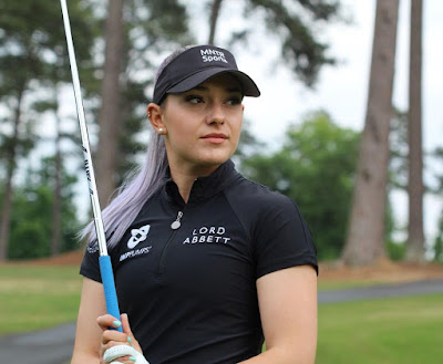 golfer Ana Belac