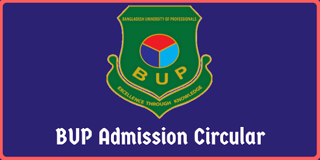 BUP Admission Test Ciruclar