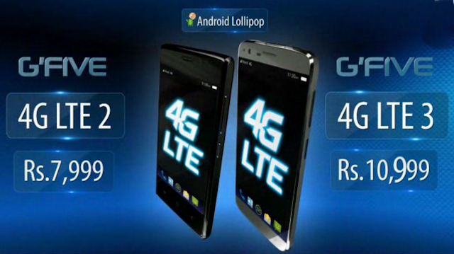 Warid GFive 4G LTE 2 and 4G LTE 3