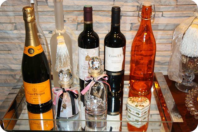 Cantinho das Bebidas : Decoração do Jantar Dia dos Namorados
