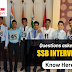 Questions asked in SSB Interview: Know Here