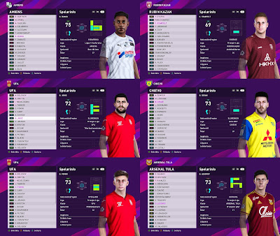 PES 2020 Facepack Vol 23 by Random Facemaker